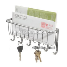 Wall-mounted Practical Letter Keychain Display Hanging Rack
