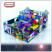 Big CE Indoor Trampoline Park With Foam Pit Ball Pool