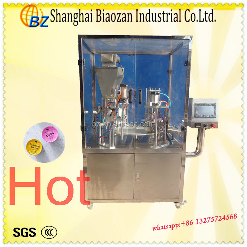 China Factory Price K cup filling sealing packing machine ,_plastic cups (points count) packing machine