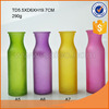 colored cylinder shaped glass flower vase for centerpiece