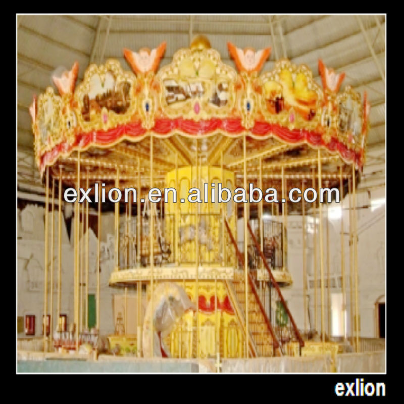 Commercial amusement machine indoor children carousel rides for sale