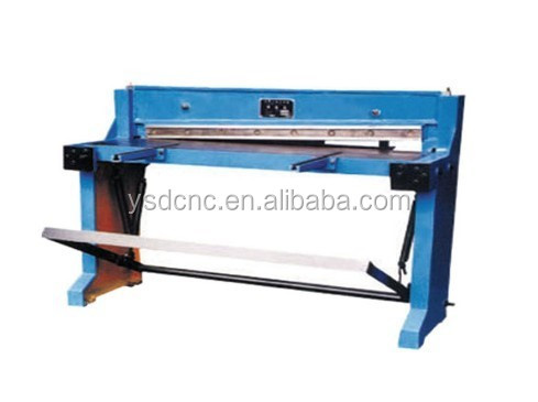 <strong>Q11</strong> foot shearing machine 1.5mm cutting machine for sale