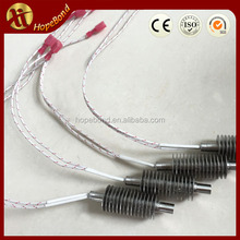 220v air heating finned type cartridge heater