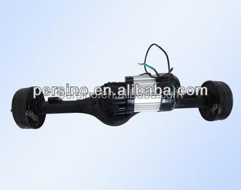 2200w brushless e-vehicle motor with rear axle