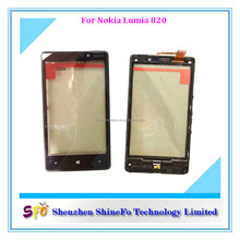 Mobile Phone for Nokia Lumia 820 LCD Screen Touch Digitizer Assembly +Frame black