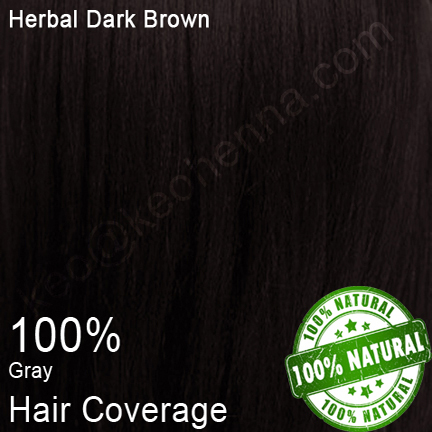 Herbal Natural Dark Brown Henna