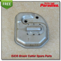 Honda 4Stroke 35.8cc GX35 Brush Cutter Spare Parts Muffler