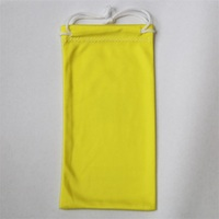 Eyewear Drawstring Dust Pouch Carry Bag Microfiber Bags Sunglasses
