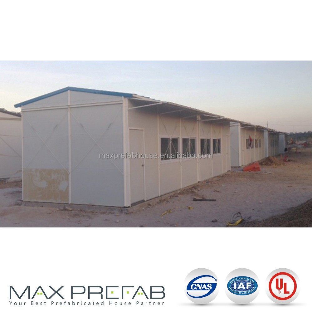 Steel frame structure prefab workshop K modular building