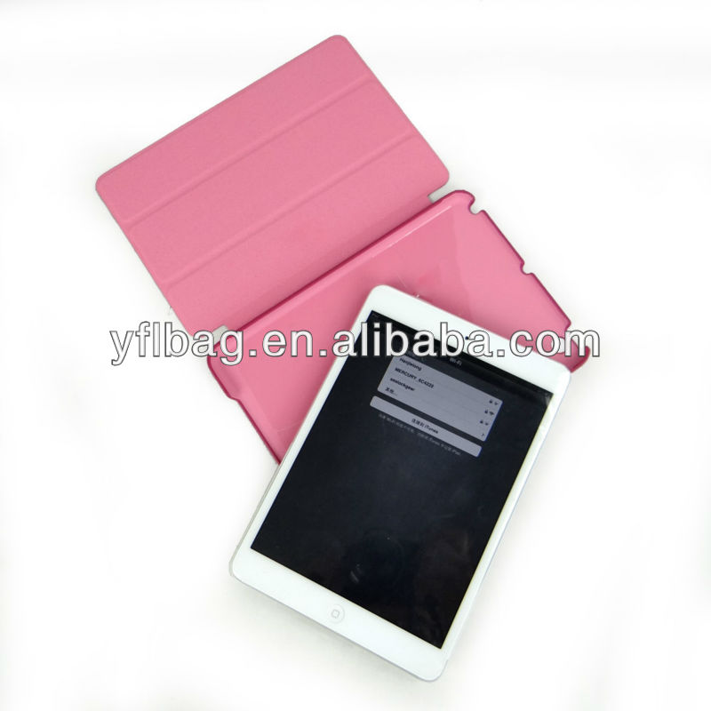 Waterproof case for ipad mini2/3/4 with high-quality PU