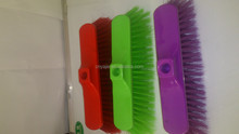 mechanical plastic broom,long plastic bristle,with good quality