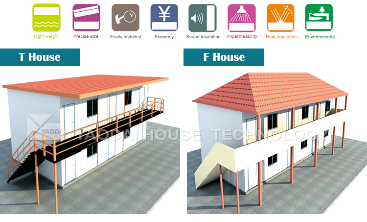 18years&UN Supplier Sundan house box office intercom movable house