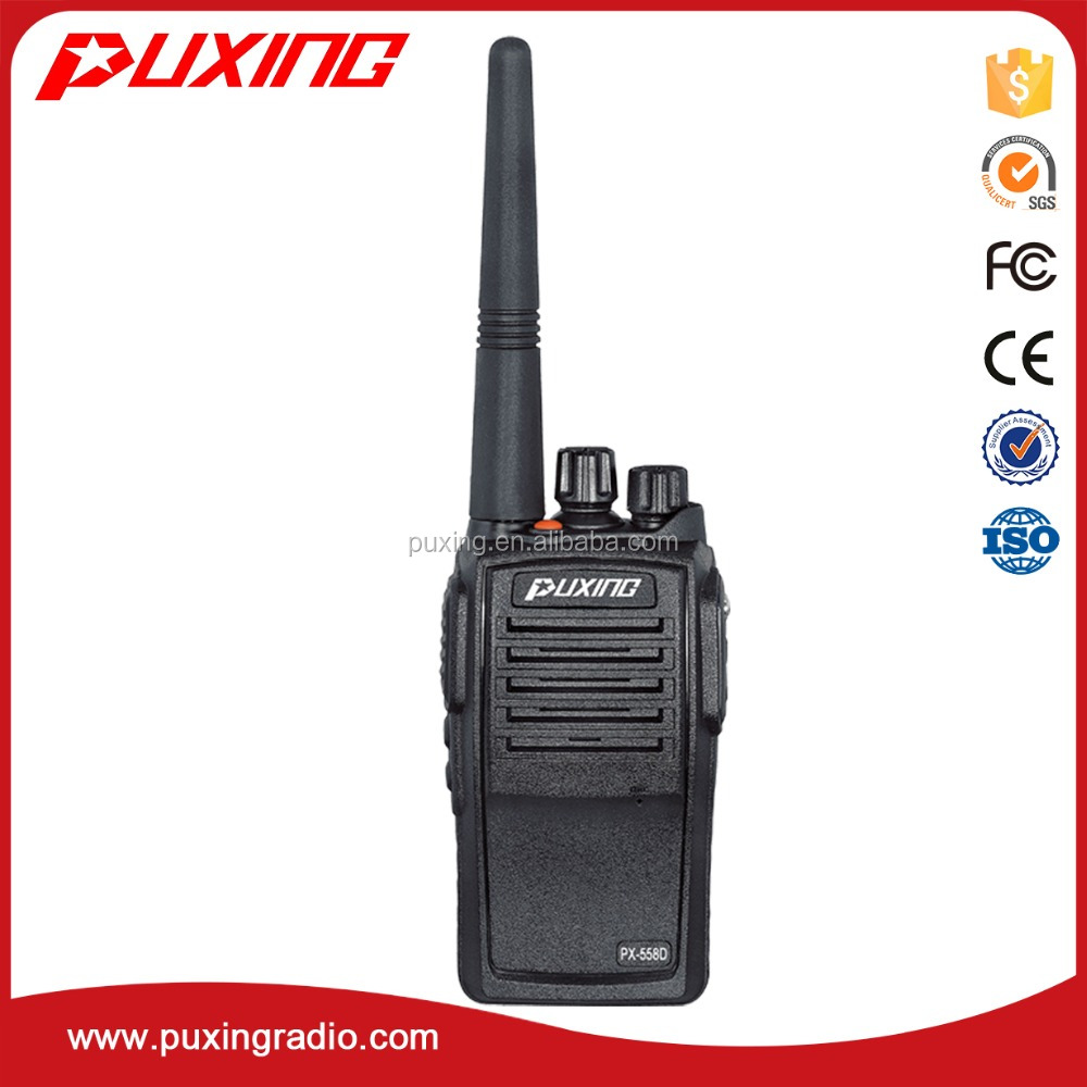 dPMR radio PX558D IP67 AMBE+2C VOCODER 12.5khz FDMA system much clearer and encription voice