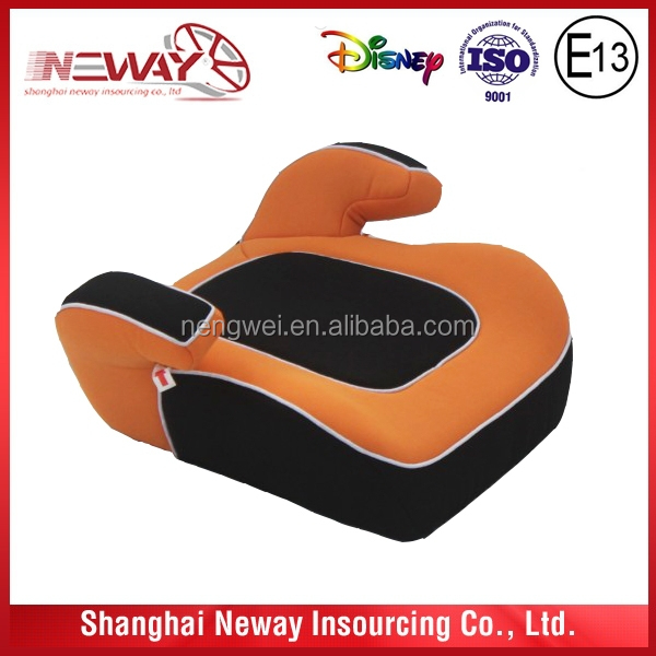 various colors and designs booster car seat approved ECER44/04 certification