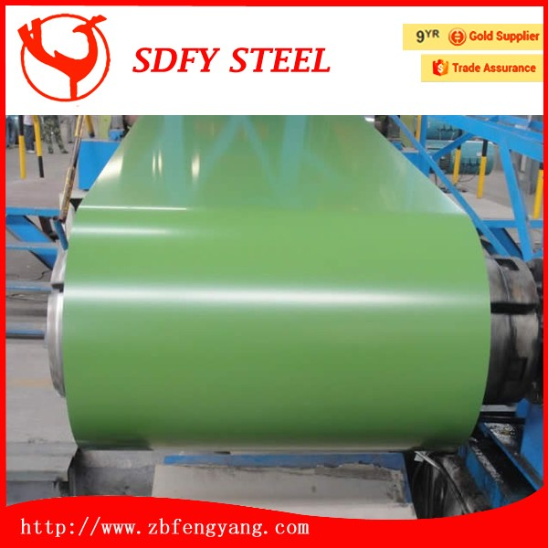 New arrival ppgi pre-painted steel coil used for roofing materials