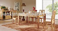 Oak Dinning table / Solid wood dinning sets / Solid wood home furniture (ZH-5101#)