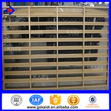 China manufacture anti-theft security sunscreen window blinds for project