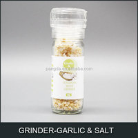 seasoning with GRINDER-GARLIC & SALT