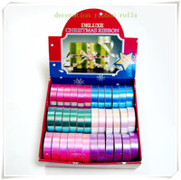 Colorful Printed Ribbon Roll for School Celebration and Club Decoration