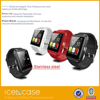 2015 new U8 plus android 4.0.3 smart phone wearable smart watch mobile phone of lady watch for healthy monitor