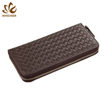 Minimalist cheap wallet men's wallets leather money clip for male