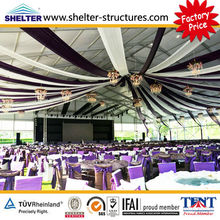 2012 aluminum alloy frame uv resistant dome tent for party for sale in Guangzhou tent factory