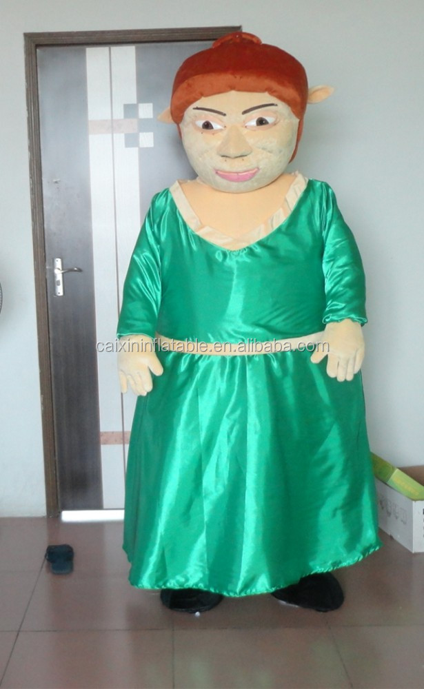 Arab woman mascot costume/cartoon costume