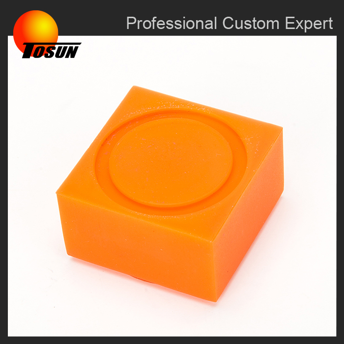 oem/customize molding square shape silicone rubber button pad, colored rubber cusion, silicone cup pads