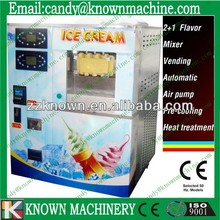 Fully automatic soft ice cream machine