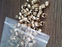 China competitive price custom brass/aluminum/stainless steel thread/threading insert