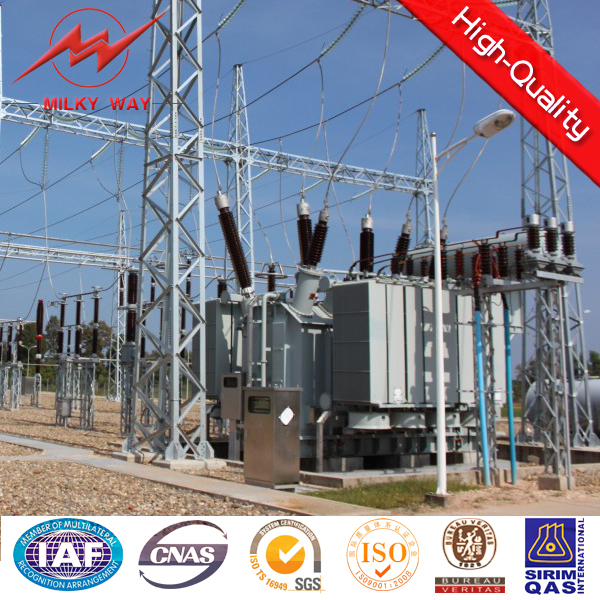 Electrical Power Compact Substation Steel Structure for 110kv,11kv,33kv
