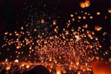 50/lot without picture Sky Lanterns Wishing Lamp SKY CHINESE Paper ballons for BIRTHDAY WEDDING Party
