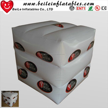 Giant inflatable cube PVC inflatable dice