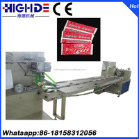 Tissue paper towels chopsticks toothpicks automatic packaging machine packaging