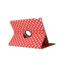Hot selling universal colorful dot pattern design shockproof leather tablet case for ipad air 2