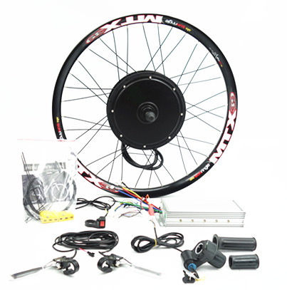 3kw BLDC motor 48-96v 3000w electric bicycle wheel kit with sabvoton programable sine-wave controller