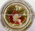 Free Sample Lily And Jasmine Flower Natural Chinese Handmade Blooming Flower Tea Balls