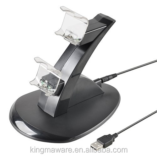 For Sony Playstation 4/PS4 Controller Charging Dock With USB Cable