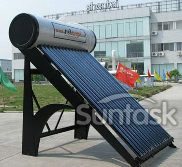 Integrate pressurized solar water heater