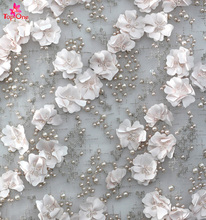 Elegant design High Quality Embroidery Lace Fabric Dubai/Bridal French Lace Fabric/Wedding Dress Lace Chinese Suppliers