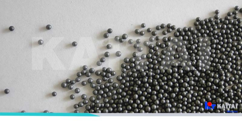 Steel Shot S390 /1.2mm for Shot Blasting and Peening with the appropriate price in Shandong Kaitai ,China