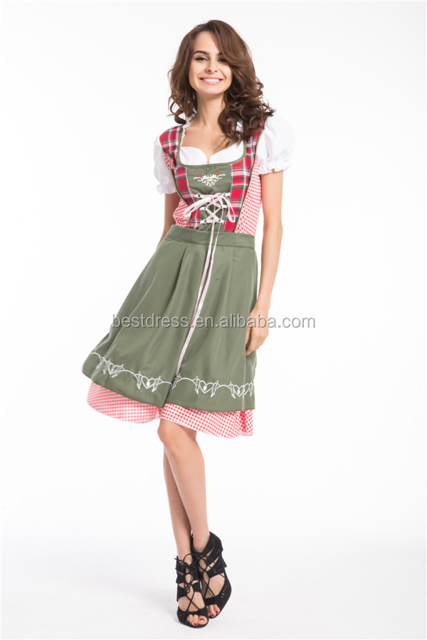 Sexy Woman Maid Costume Oktoberfest Party German Beer Girls Costume
