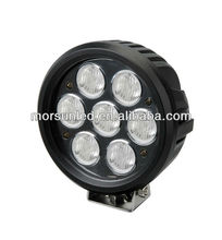 Super bright 70 watt 7000 lumen LED tractor worklight, led 70w work light, led work lamp 70w