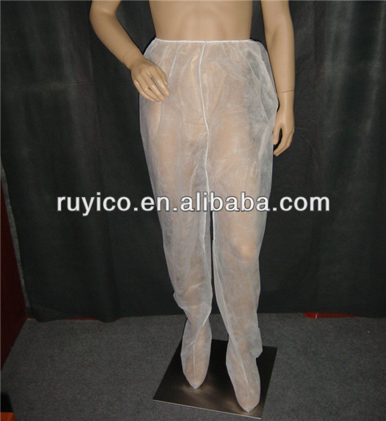 disposable hospital medical surgical pants