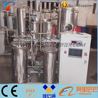 Automatic Control Pyrolysis oil Purification,Used Motor Oil Cleaning Machine,Tyre Oil Filtration