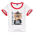 hotsale 100 cotton low price cartoon printed wholesale kid t-shirts
