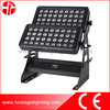 waterproof lighting fixture 72x10w rgbw led wall wash outdoor building projector