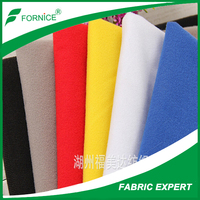 very low price 100%polyester tricot car upholstery fabric for Kuwait/Dubai/Iran market