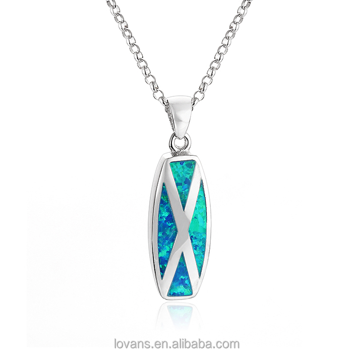 Silver Opal Pendant Jewelry Set Cd Jewel Cases Wholesale