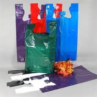 Biodegradable Many Costom Bag Gravure Printed OEM Plain Colour Shopper Bag